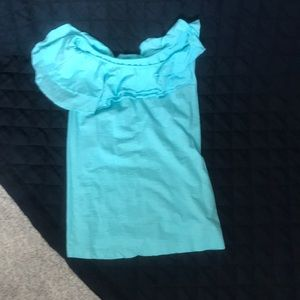 Lilly Pulitzer light blue top